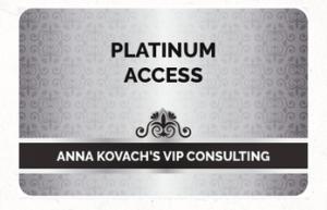 Anna Kovach platinum bonus